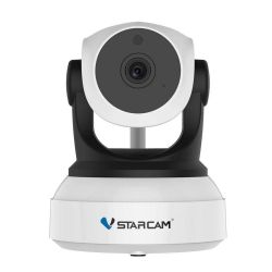 VStarcam C24S Ρομποτική IP Κάμερα Full HD 1080p Με Σύνδεση WiFi/Ethernet microSD Και Plug & Play | DBM Electronics