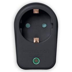 SONORA SPAB100 Αντάπτορας Ρεύματος Με Προστασία Υπέρτασης Σε Μαύρο Χρώμα | DBM Electronics
