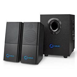 NEDIS GSPR10021BK Στερεοφωνικά PC Και Gaming Ηχεία 2.1 Με Ισχύ 11Watt | DBM Electronics