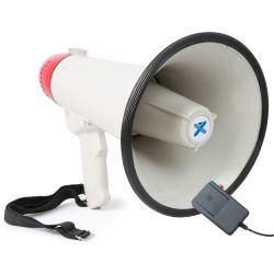 VONYX MEG040 Τηλεβόας Με Εγγραφή Φωνής Και Σειρήνα Ισχύος 40 Watt | DBM Electronics