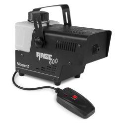 BEAMZ RAGE 600I Μηχανή Καπνού Ισχύος 600 Watt Με Ενσύρματο Τηλεχειριστήριο   DBM Electronics
