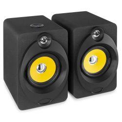 "VONYX XP50 Ζεύγος Αυτοενισχυόμενων Studio Monitor Ηχείων 5.25"" Με USB Και Bluetooth Ισχύος 2x50 Watt | DBM Electronics"