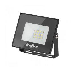 Rebel URZ3480 Προβολέας LED Ισχύος 10W Με Φωτισμό 6500K & Τροφοδοσία 230V | DBM Electronics