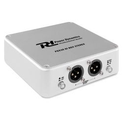 POWER DYNAMICS PDX30 Ενεργό Stereo Di BOX Με 2 XLR Εξόδους Και 2 Jack 6.3mm Εισόδους | DBM Electronics