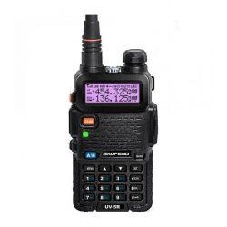 Baofeng UV-5R Πομποδέκτης VHF/UHF 5 Watt Με Μπαταρία, Φορτιστή & Hands Free | DBM Electronics
