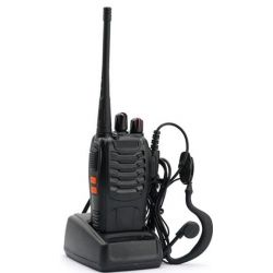 Baofeng BF-888S Πομποδέκτης UHF 5 Watt Με Μπαταρία, Hands Free Και Φορτιστή (Τεμάχιο) | DBM Electronics