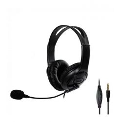 C7 Ακουστικά 40mm Για PC Και Gaming Με Μικρόφωνο, Σύνδεση 1 x Jack 3.5mm 4pin | DBM Electronics