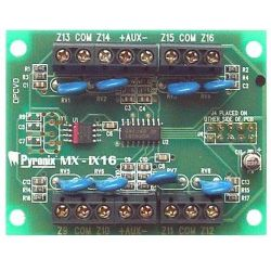 Pyronix MX-IX16 Πλακέτα επέκτασης 8 επιπλέον ζωνών για τους πίνακες MX-816, MX-424 & MX-832 | DBM Electronics