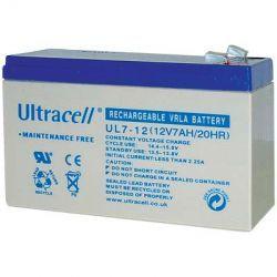Επαναφορτιζόμενη Μπαταρία Μολύβδου Ultracell 12V 7Ah | DBM Electronics